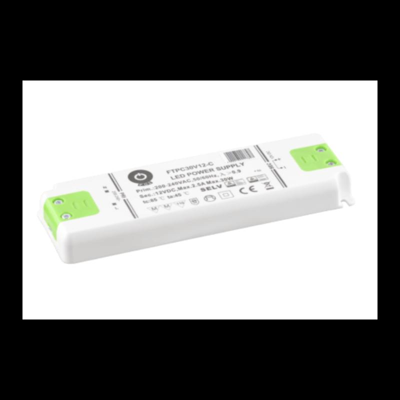 Driver LED FTPC30V12V-C 30W 12V 2.5A IP20