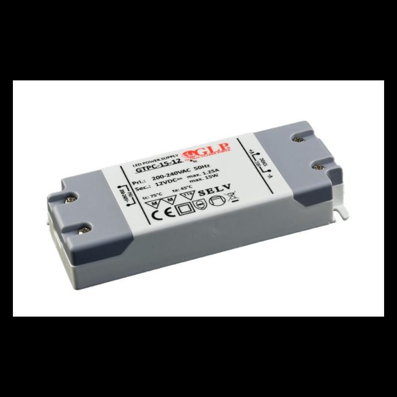DRIVER LED GTPC-15-12 15W 12V 1.25A