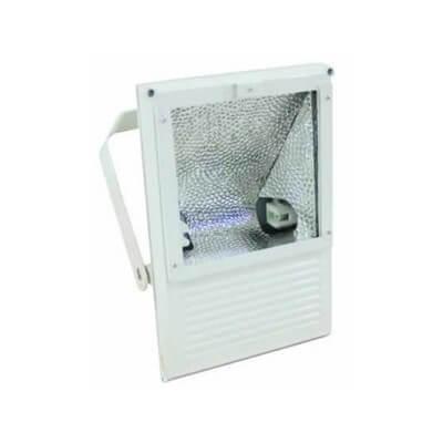 Projecteur Iodure exterieur BLANC 150w  IP65 avec lampe Osram Blanc brillant