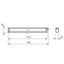Philips Pentura Mini LED BN130C LED 14S/840 PSU L1158