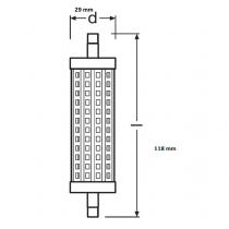 OSRAM PARATHOM LINE R7s 118mm 15W-125W 827