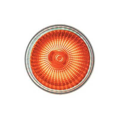 Lampe halogene ROUGE dichroique 12v 50w GU5.3 Blister de 2 ampoules