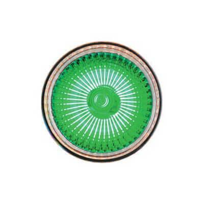 Lampe halogène VERTE dichroïque 12v 50w GU5.3 Blister de 2 ampoules
