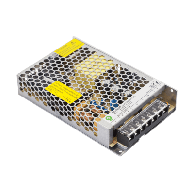 Alimentation LED POS  150W 12V 12.5A avec boitier en maille IP20