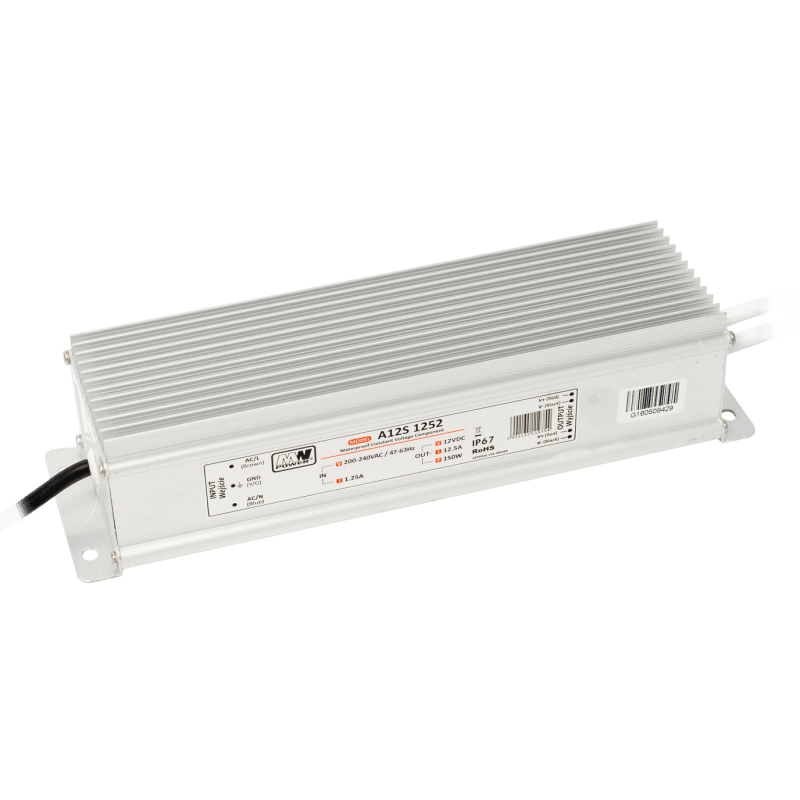 Driver LED A12S 8331 100W 12V 8.3a IP67 Etanche