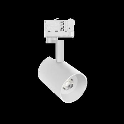 MADARA MINI GU10 Projecteur sur rail Triphasé blanc , lampe GU10