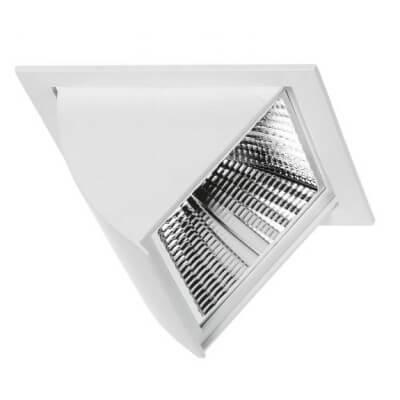 Projecteur encastrable Led 33.5W /840 3600lm Blanc brillant orientable
