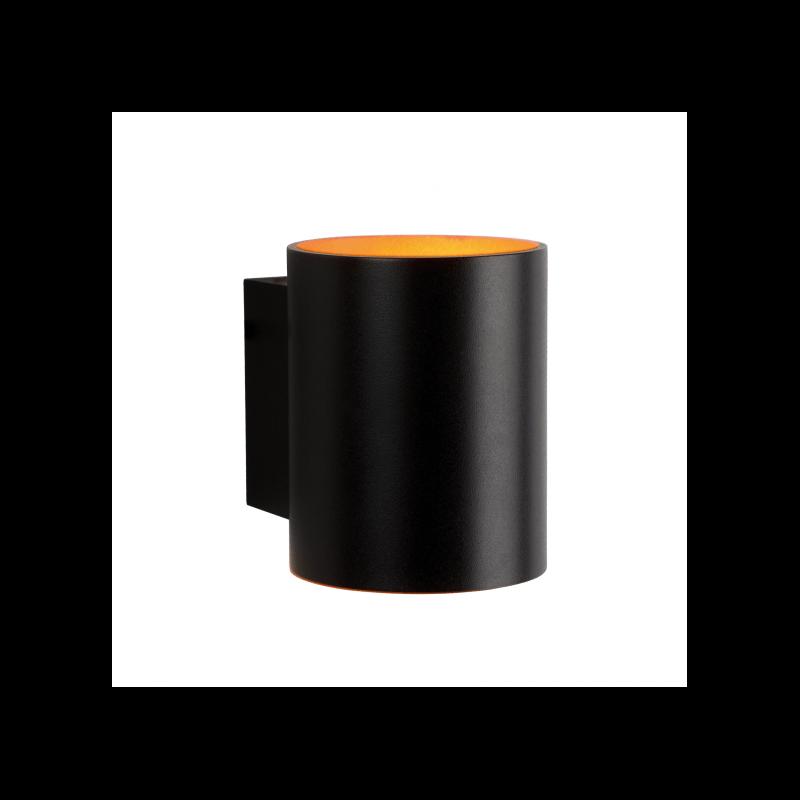 Applique Spectrum Squalla G9 10W noire ovale IP20