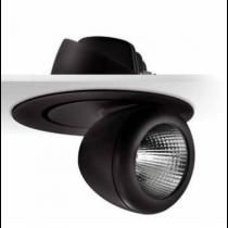 Projecteur LED orientable rond 45W 4000K Blanc froid 5145 lumens diamètre de perçage 162mm