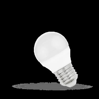 LED BALL E27 4W Substitut 31w blanc Chaud  2700k-3000k 340lumens
