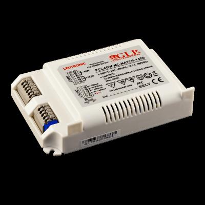 Driver led Multi puissances 40W PCC40-MC-MATCH-1900 18-28V