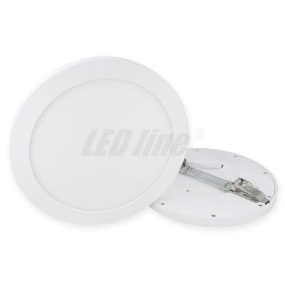 Panel EasyFix 18W 1570lm 2700K blanc chaud 60-185mm diam réglable