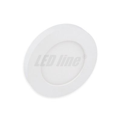 Panel EasyFix 6W 450lm 2700K blanc chaud diamètre réglabe de 55 à 90mm