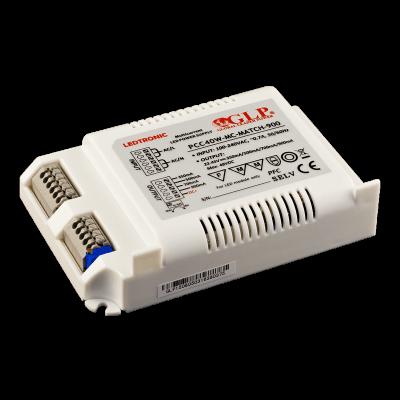 Driver LED PCC40W-MC-MATCH 900 Multi courant 350ma/500ma/700ma/900ma