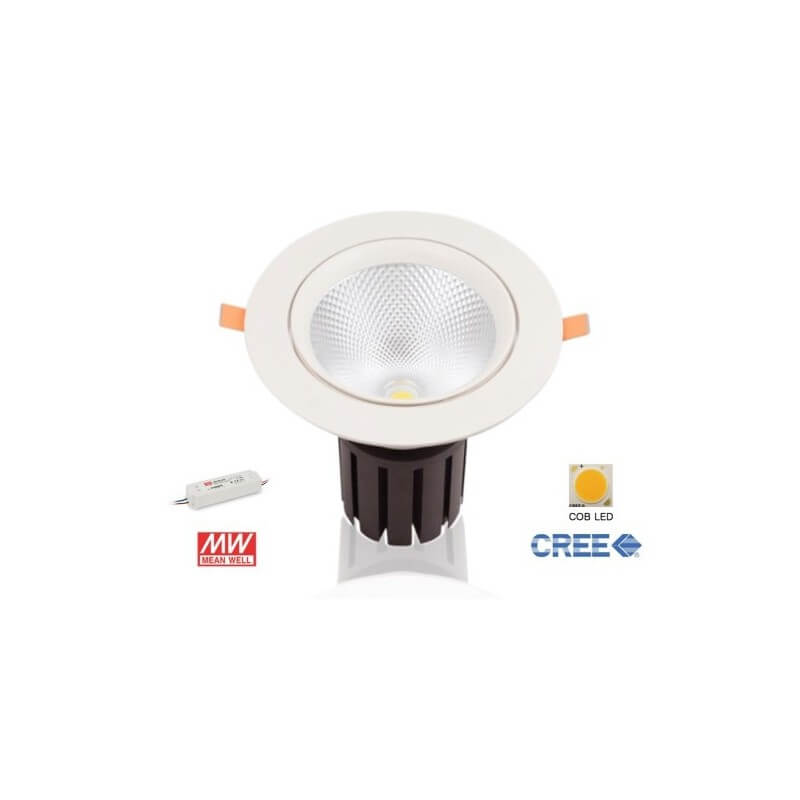 Plafonnier encastrable LED 55W Blanc naturel
