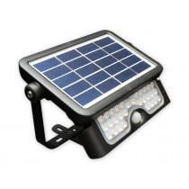 Projecteur Extérieur LED Solaire 5W 500lumens 4000K blanc brillant 840 avec détecteur intégré IR