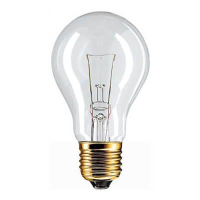 Philips lampe incandescente standard 100w E27 24V A60 CL