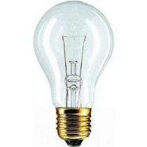 Philips 40 W E27 BRC 24V A60CL 1CT Basse tension crystal