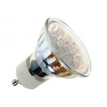 Lampe LED GU10 1w 20 leds 50000h blanche