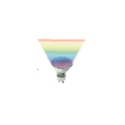 Lampe Led Gu10 1w a variation de couleur rapide