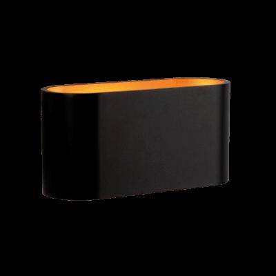 Applique Spectrum Squalla culot G9 10W rectangulaire noire IP20