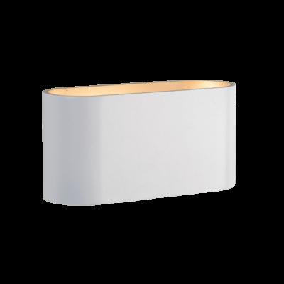 Squalla G9 Applique murale rectangulaire blanche lampe G9 Led