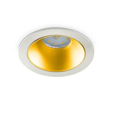 Spot SENA GOLD encastrable 50Wmax 12V pour lampe à culot GU5.3 ou GU10