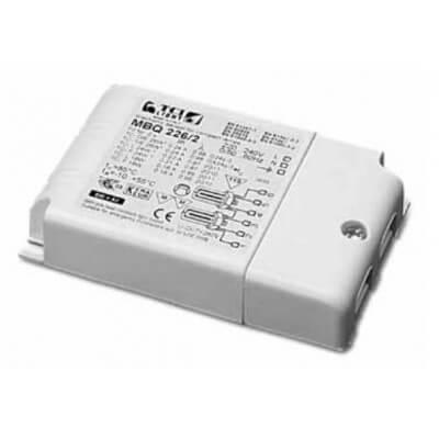 Ballast électronique TCI MBQ 226/2 POUR LAMPE FLUO 2*26W G24qou GX24q