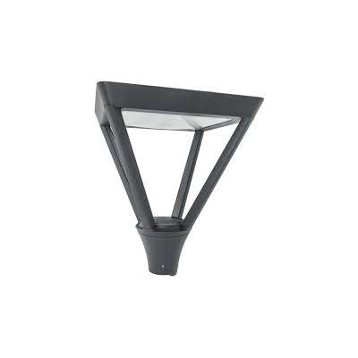 Lanterne Tête  de mat LED anthracite IP65 LED 40W 4200K