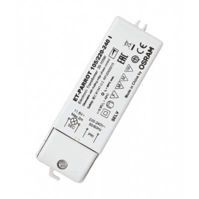 ET-PARROT 35-105W Transformateur pour lampes Halogènes trés basse tension