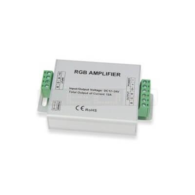 Amplificateur de signal LED RGB 144 max12V~24V 12A IP20