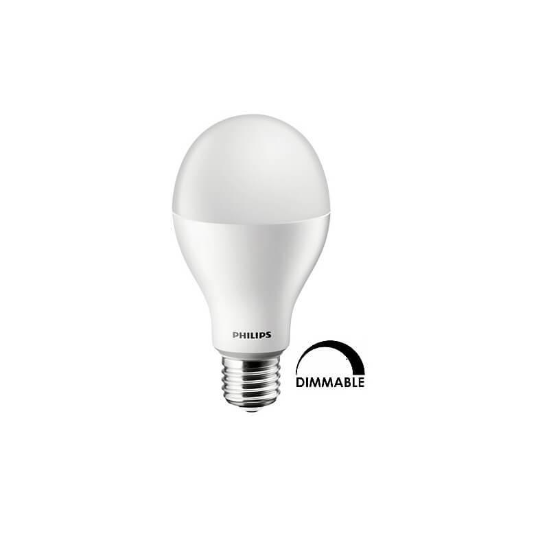 Ampoule LEDbulb Philips CorePro 16w substitut 100W 1521 lumens blanc chaud 2700K Dimmable E27