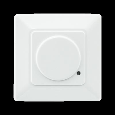 Interrupteur a détection de présence HF Square Sense 180D IP20 blanc