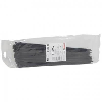 Lot de 100 Colring Legrand noir 4.6X280mm 031808