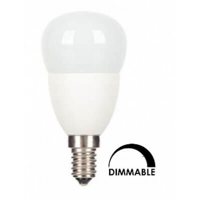 Lampe LED bulb 4W substitut 30W Blanc brillant 840 350lm E14 dimmable
