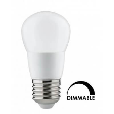 Lampe LED sphérique 4W substitut 30W Blanc brillant 840 350lm E27 dimmable