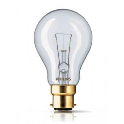 Lampe à incandescence Philips  60W B22  baionnette 24V  CL