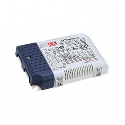 Alimentation LED MeanWell LCM-40, 40W 40-100V 350-1050mA IP20