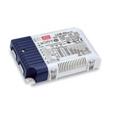 Alimentation LED Mean Well LCM-60 60W , 42-90V 1.4-0.5A IP20