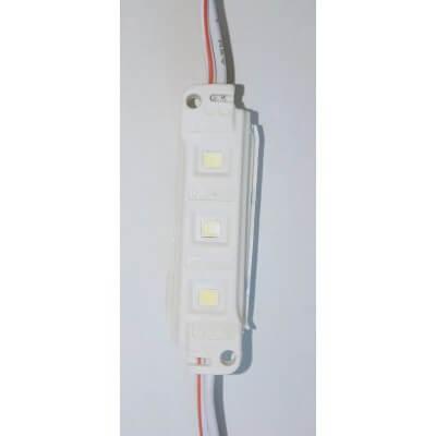 Chaîne de 30 Modules LED 0.36W par module 6500K Blanc lumière du jour 12V IP65 120°