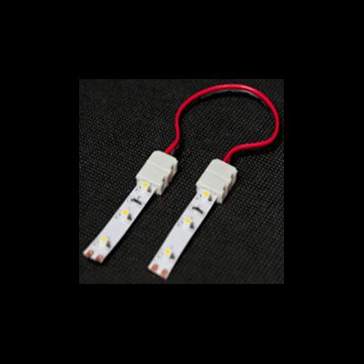 Click-8C Connecteur double câblé pour ruban LED de 8mm monochrome