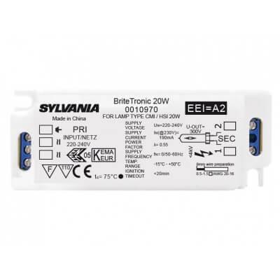 Ballast electronic SYLVANIA BRITETRONIC 20W 0010970