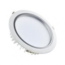 Downlight encastrable 30W 2400 lumens 2700K Blanc chaud, IP44, diamètre de perçage  200mm