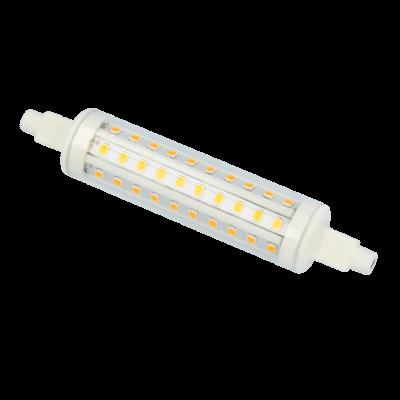 Lampe LED culot R7S 10W 118mm blanc 4000k 915lm 30 000h