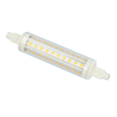 lampe LED SMD R7S 10W 118mm blanc 4000k 915lm 30 000h