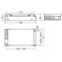 Ballast électronique TRIDONIC PCI 100/150 PRO C01  220-240V