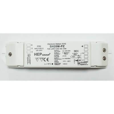 Ballast électronique iodure HEP EVG SH20M-PZ pour lampe 20W 000186