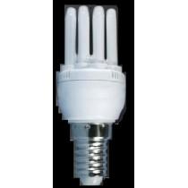 Lampe fluocompact extra mini E14 15w/827 8000h