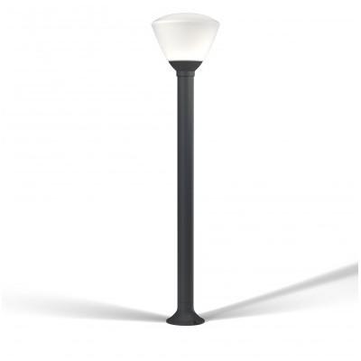 Lanterne de jardin ENDURA STYLE OSRAM Borne extérieure LED en verre brossé - 7W/35W