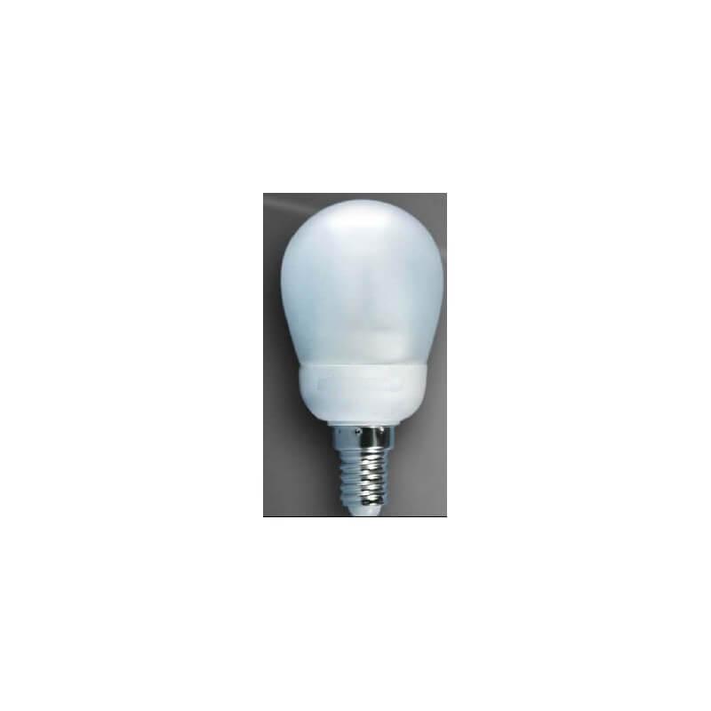 ampoule economique spherique boule e14 7w 840 kfms clairage. Black Bedroom Furniture Sets. Home Design Ideas